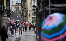 Bizkaia, en alerta hasta media mañana por riesgo de lluvias intensas