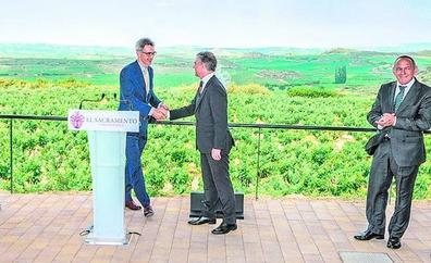 De Bélgica a Laguardia para hacer vino