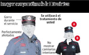 Los tatuajes se extienden en las policías vascas