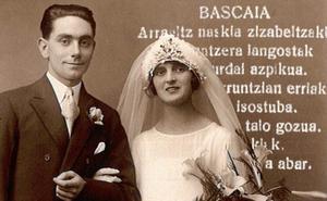 Un menú nupcial de 1929 en euskera