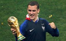 Francia celebra su segundo Mundial