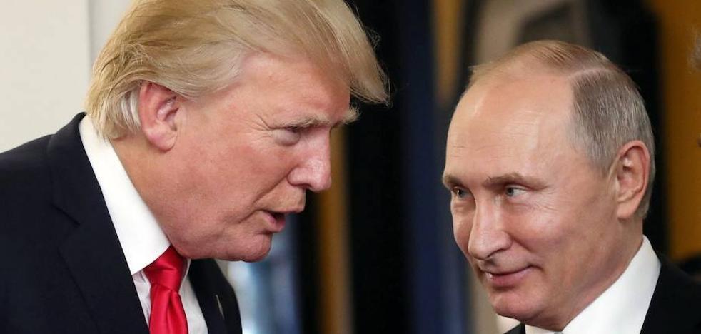 Putin y Trump, en Helsinki