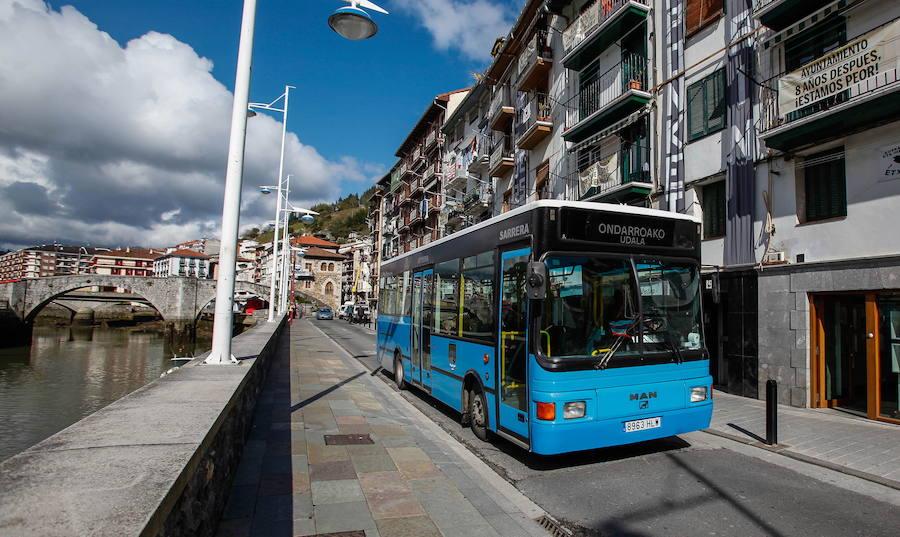 Ondarroa vuelve a poner en marcha el autobús urbano hasta septiembre