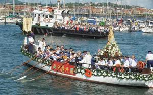 Santurtzi se rinde a la Virgen del Carmen