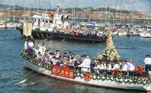 Santurtzi se entrega a la Virgen del Carmen