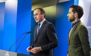 El PP exige la retirada de las bases del nuevo Estatuto y se reivindica como garante de la convivencia en Euskadi