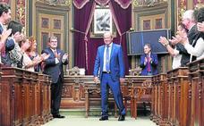 La despedida del concejal Barkala: «Adiós, capitán»