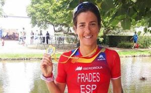 Gurutze Frades triatletak zazpigarren postua lortu zuen distantzia luzeko Munduko txapelketan