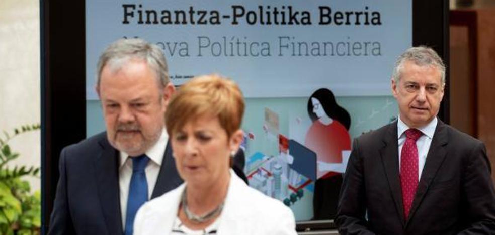 El Gobierno vasco promueve la creación de dos fondos de inversión para tomar participaciones en grandes empresas