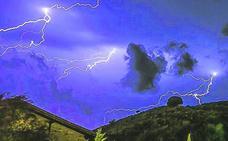 Muere un vecino de Ilarduia en medio de la tormenta. «Ha tenido que cogerle un rayo»