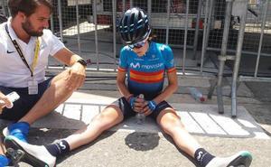 Eider Merino da un ejemplo de resistencia en la etapa femenina del Tour: «¿Retirarme? Eso nunca»