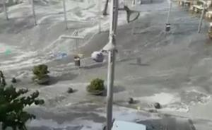 Fallece al ser arrastrado por una ola gigante en Mallorca
