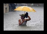 Lluvia sin tregua