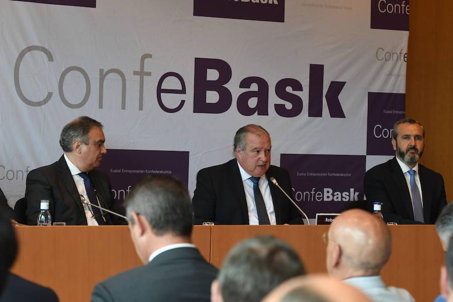 La patronal vasca cree que el próximo año se puede alcanzar el nivel de empleo previo a la crisis
