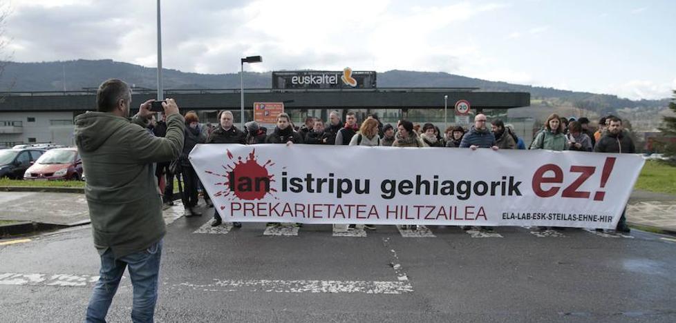 Descienden los accidentes laborales mortales en Euskadi pero aumentan los graves y leves
