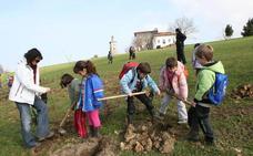 Urdaibai planta educación ambiental