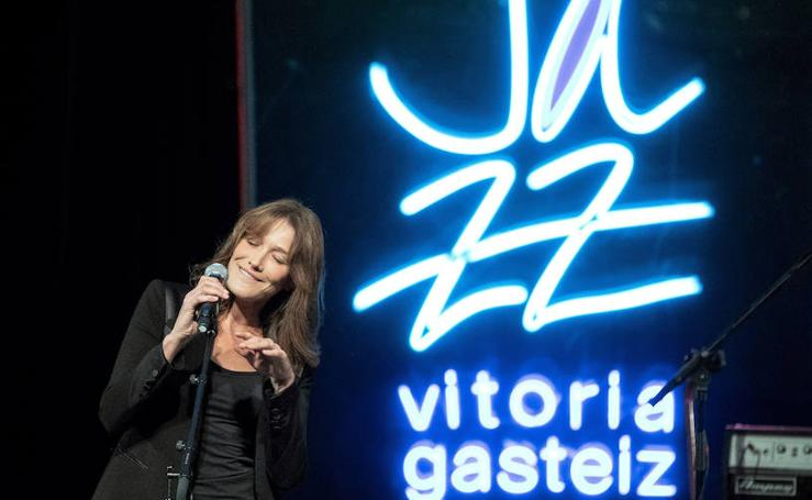 El jazz elegante de Carla Bruni