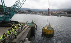 Botan en Bermeo el primer laboratorio flotante de Europa