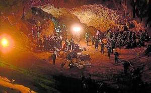 El agobiante rescate tailandés