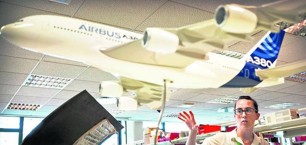 Un centro tecnológico vasco investiga con Airbus cómo eliminar el hielo de las alas de los aviones