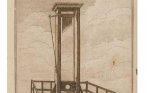 Una «divertida» guillotina en casa