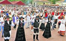 Una muiñeira con récord de danzantes en Vitoria