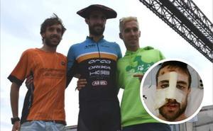 El triatleta Ander Okamika se proclama campeón de Euskadi casi tres meses después del grave accidente