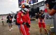 Aluvión de críticas a Vettel por su accidente
