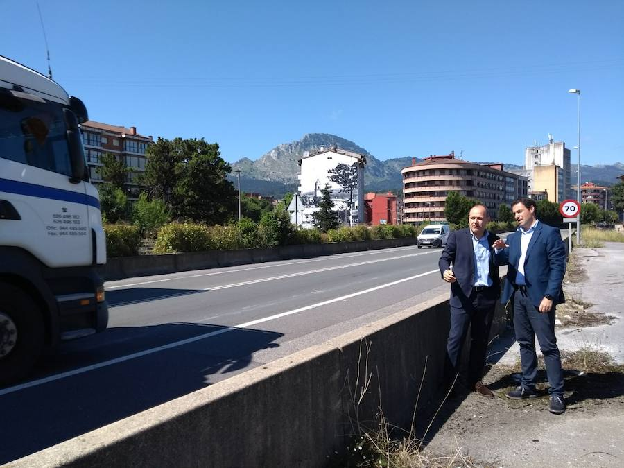 La transformación de la N-634 en bulevar a su paso por Iurreta arrancará en 2019