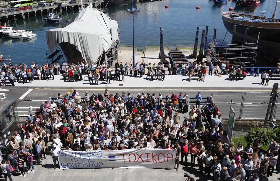 Puertos apuesta por alejar la actividad del astillero del área urbana de Bermeo