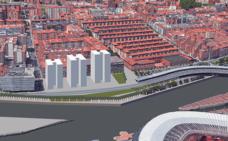 La gran rotonda del IMQ desaparecerá en 2019 para dejar paso a 230 pisos