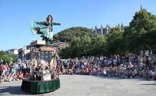 Kaleka de Lekeitio consolida el teatro de calle con 20.000 espectadores
