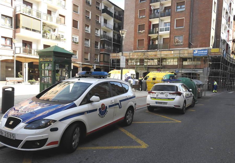 Tres detenidos en Ermua cuando circulaban en un vehículo robado