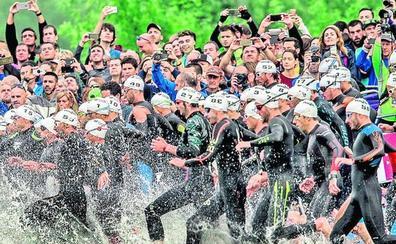El triatlón supuso un impacto económico de 9,3 millones de euros en Vitoria