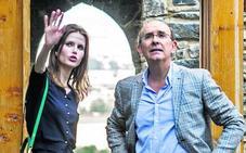 Inma, embajadora de la 'marca España' y Eduardo, en el Roland Garros con Rafa Nadal