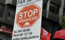 Los desahucios crecen en Euskadi