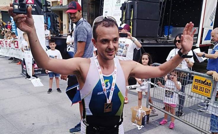El triatlón de montaña más duro de Euskadi, en imágenes
