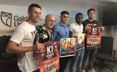 Los títulos WKL estatal e intercontinental de boxeo K-1 se decidirán en una velada en Galdakao