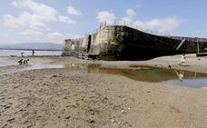 Las mareas vivas en Getxo dejan estampas espectaculares