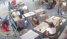 Francia se moviliza para dar con el hombre que golpeó a una joven en plena calle