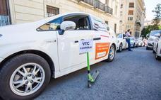 Los taxistas de Álava prorrogan su huelga 24 horas más
