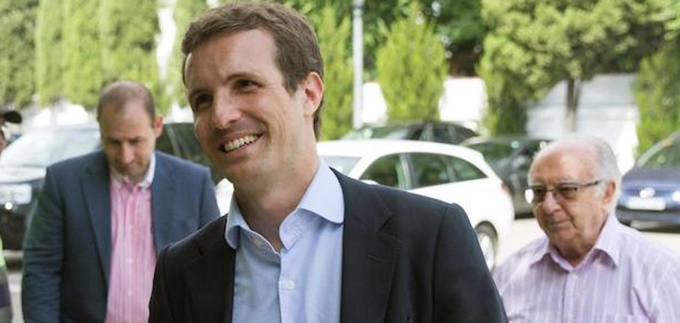 Casado se reunirá el domingo en Vitoria con Alfonso Alonso