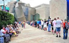 El Guggenheim vive el mejor arranque del verano de su historia con 263.000 visitantes