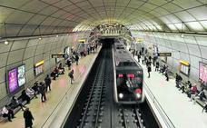Un hombre irrumpe en las vías del metro y obliga interrumpir el servicio durante 20 minutos entre Santurtzi y Peñota