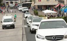 Los taxistas alaveses «suspenden» la huelga hasta septiembre