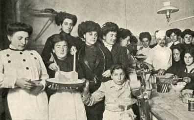 La primera escuela de cocina vasca