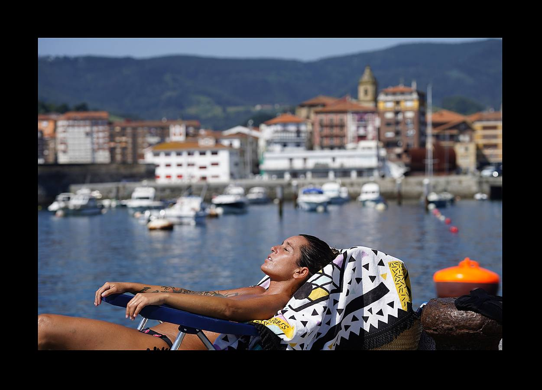 El calor abrasa Euskadi