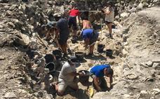 Hallan en la cantera neolítica de Treviño el pico minero más antiguo de la Península
