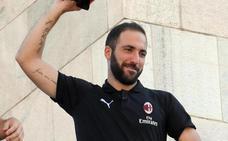 Higuaín: «En el Chelsea solo me quería Sarri»