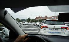 La peor carrera de un taxista